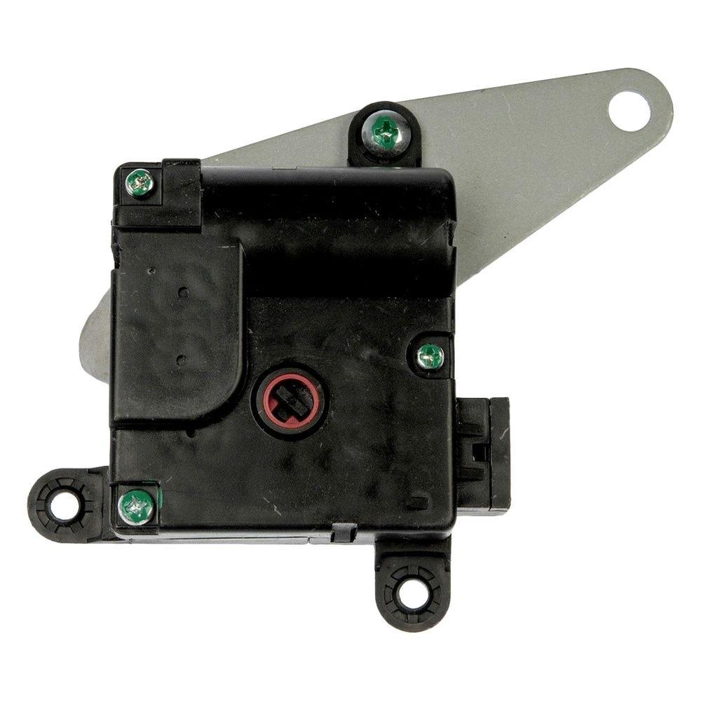 How many blend door acuators on a 2006 bentley arnage air for Door actuator