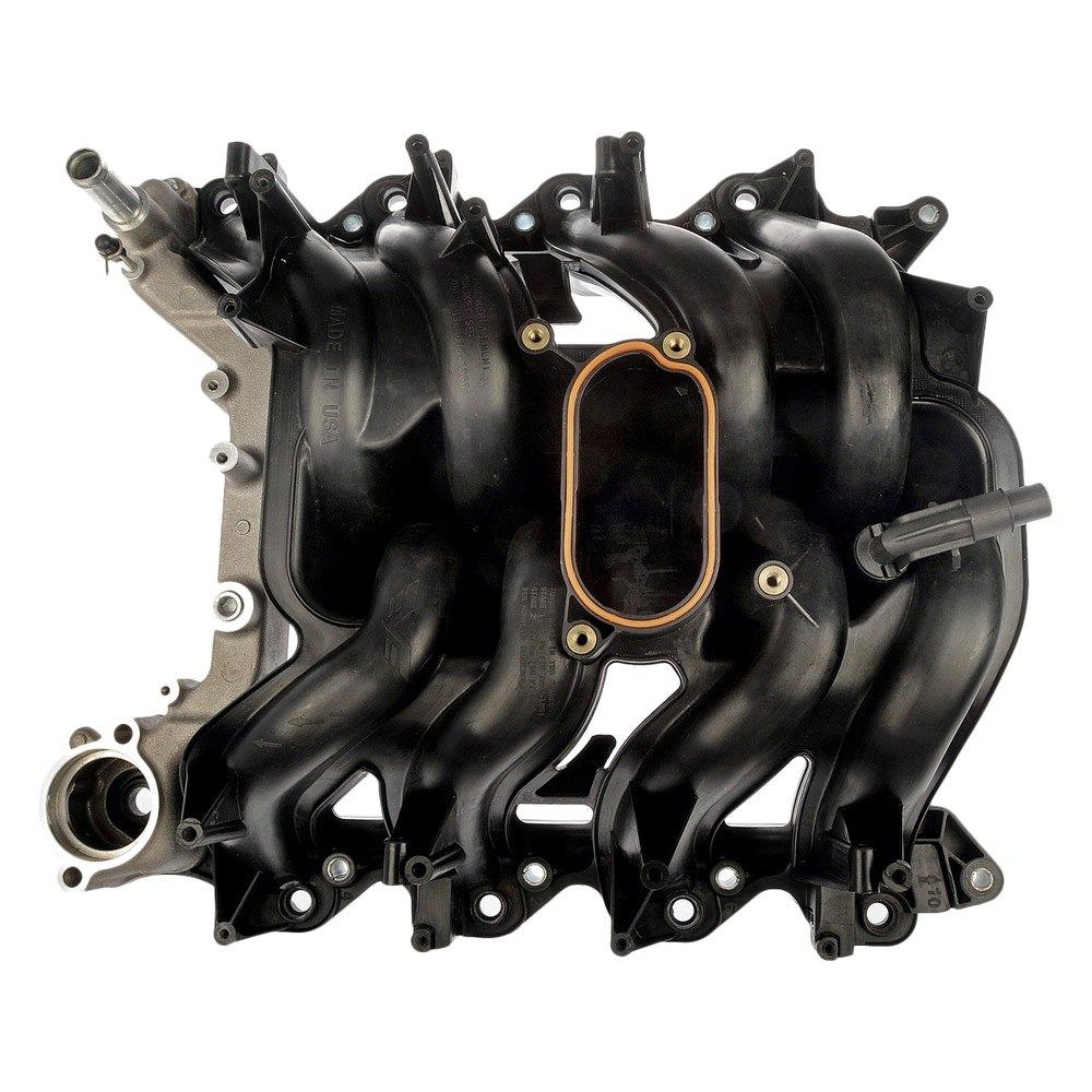 D16 Plastic Intake Manifold: Dorman 615-188 - Black Plastic Intake Manifold