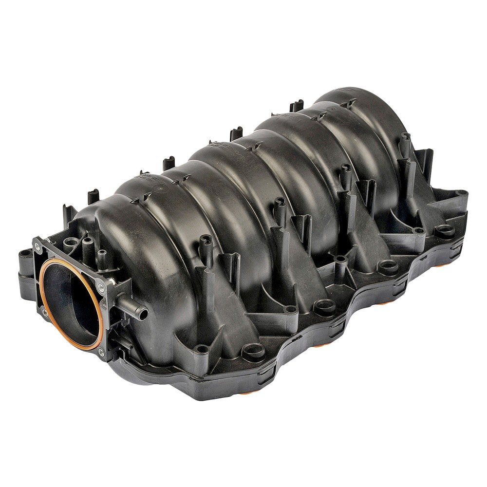 D16 Plastic Intake Manifold: 615-190 Dorman - Black Plastic Intake Manifold