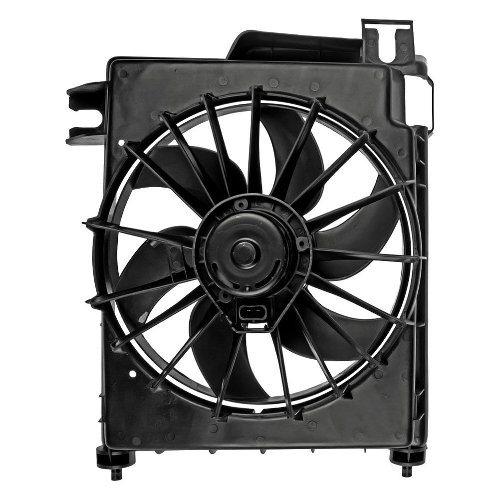 Dorman dodge ram 2007 a c condenser fan assembly for Ac condenser fan motor replacement