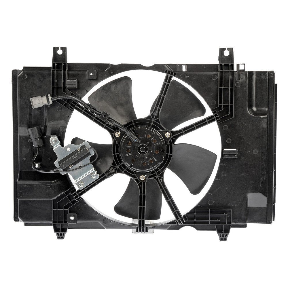 Replacement Motor Cooling Fans : Dorman nissan versa cooling fan assembly
