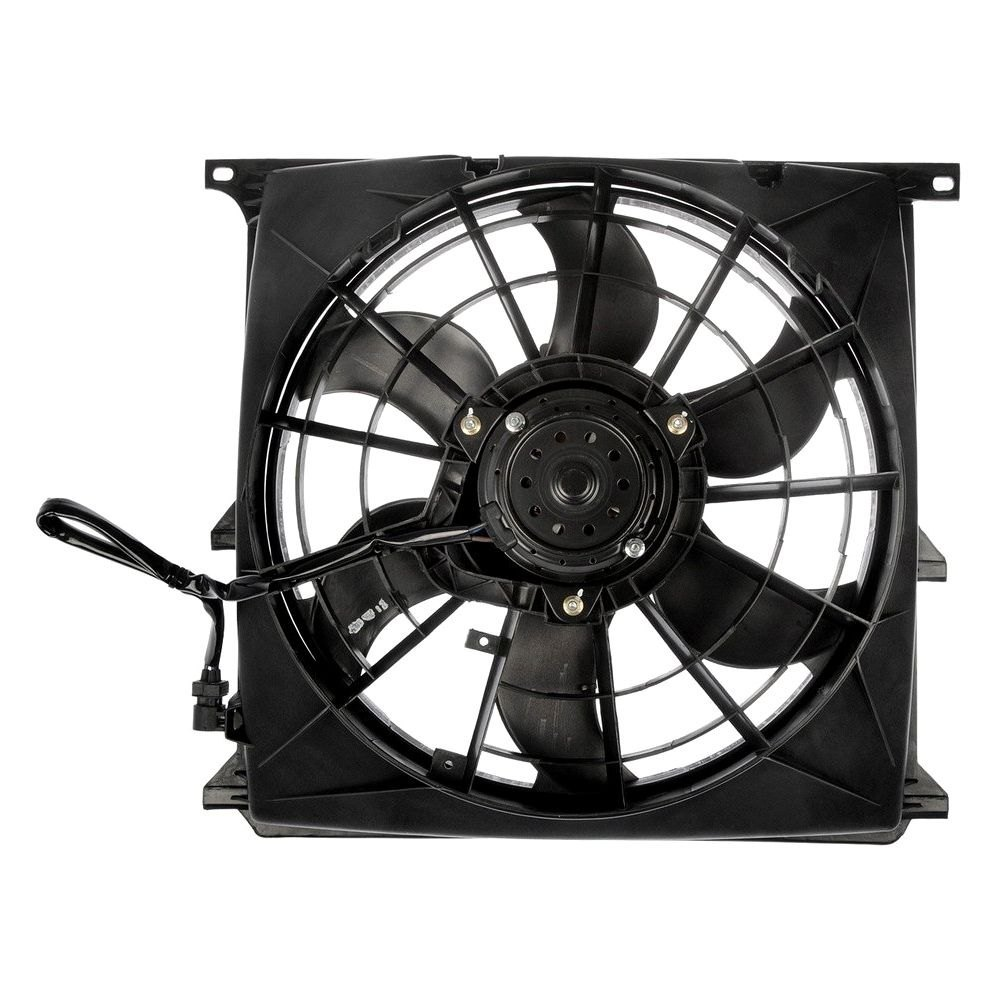 BMW 3-Series 1996-1997 A/C Condenser Fan Assembly