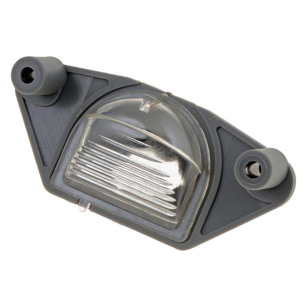 Dorman chevy ck pickup 1994 license lamp lens for Garage ford lens