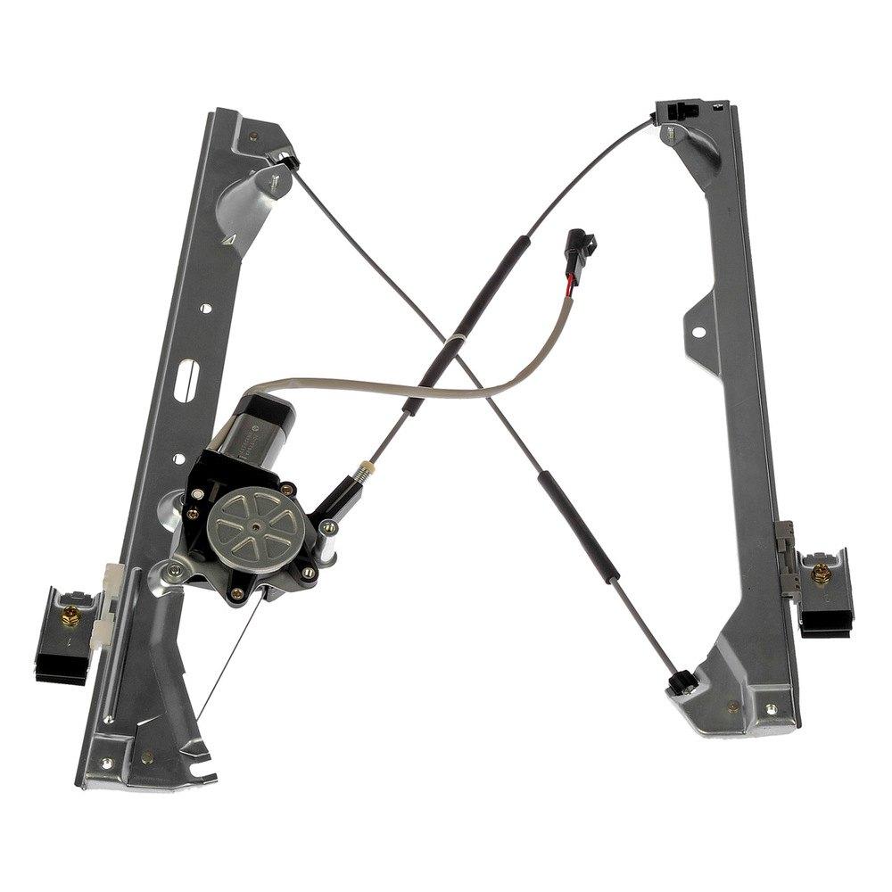 Dorman gmc sierra 2014 power window regulator and motor for Window mechanism