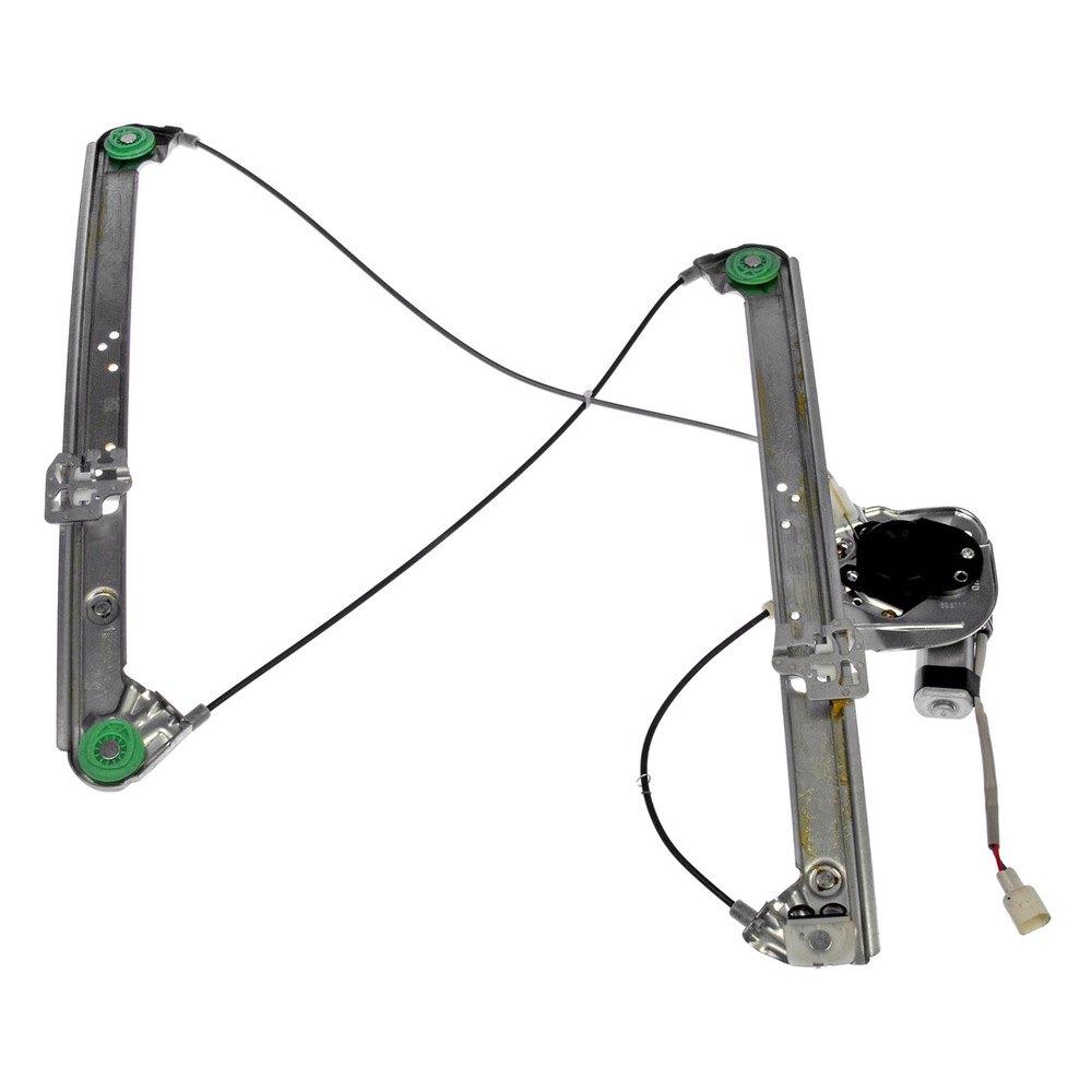 Pair 2 Left or Right Window Regulator Repair Clips Power Window Regulator Audi A6 Allroad S6 Rs6 Avant C5 - Front
