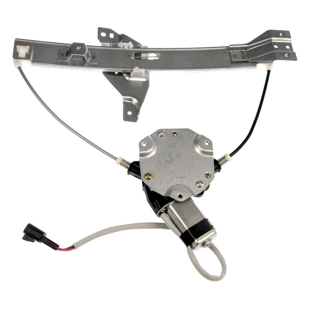 Dorman chevy impala 2006 2013 power window regulator for Window mechanism
