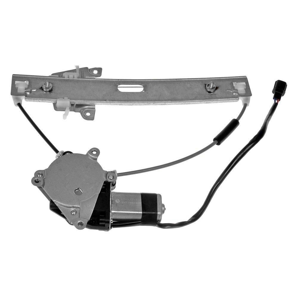 Dorman 751-297 Front Passenger Side Power Window Motor /& Regulator Assembly New
