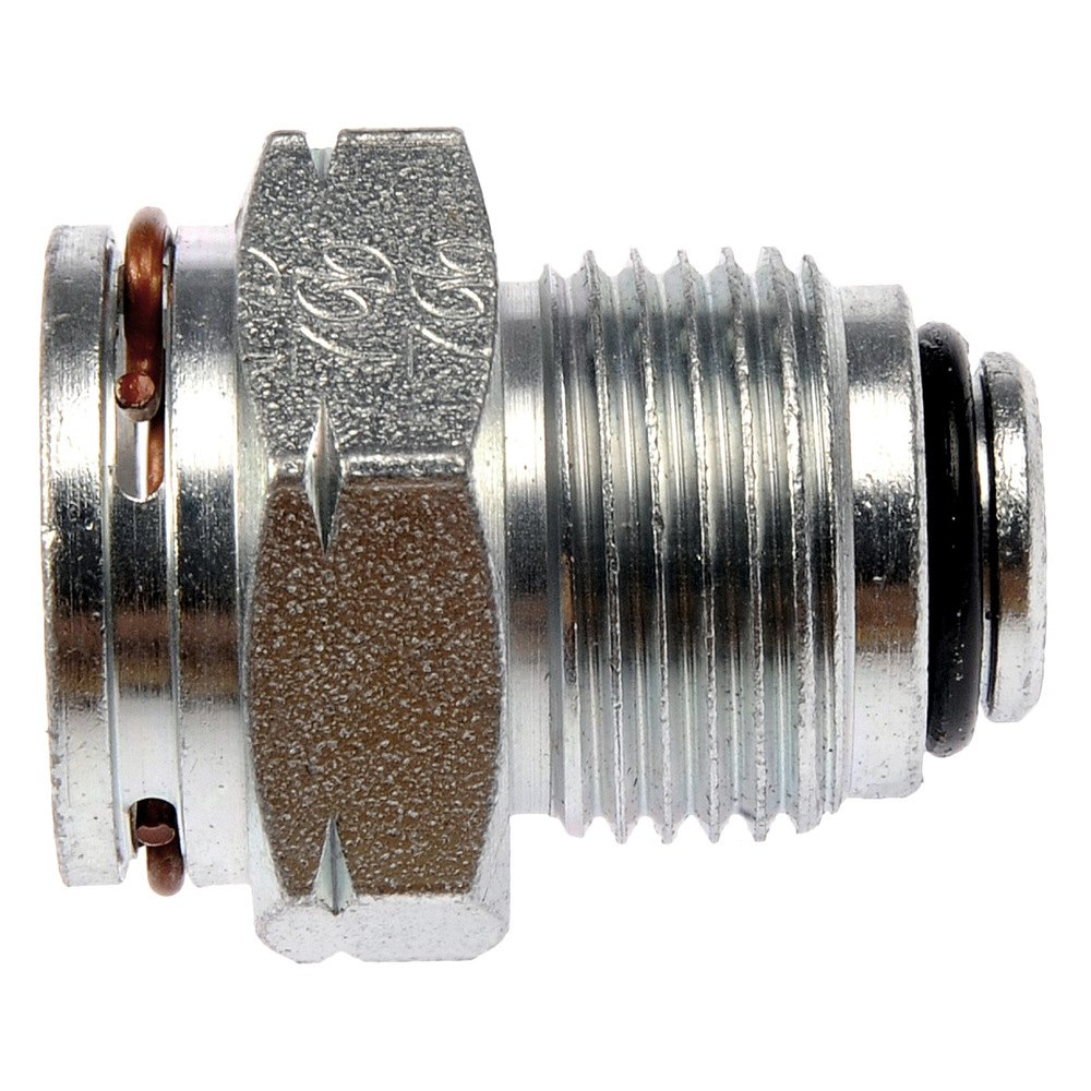Sbc Oil Cooler : Dorman engine oil cooler line connector