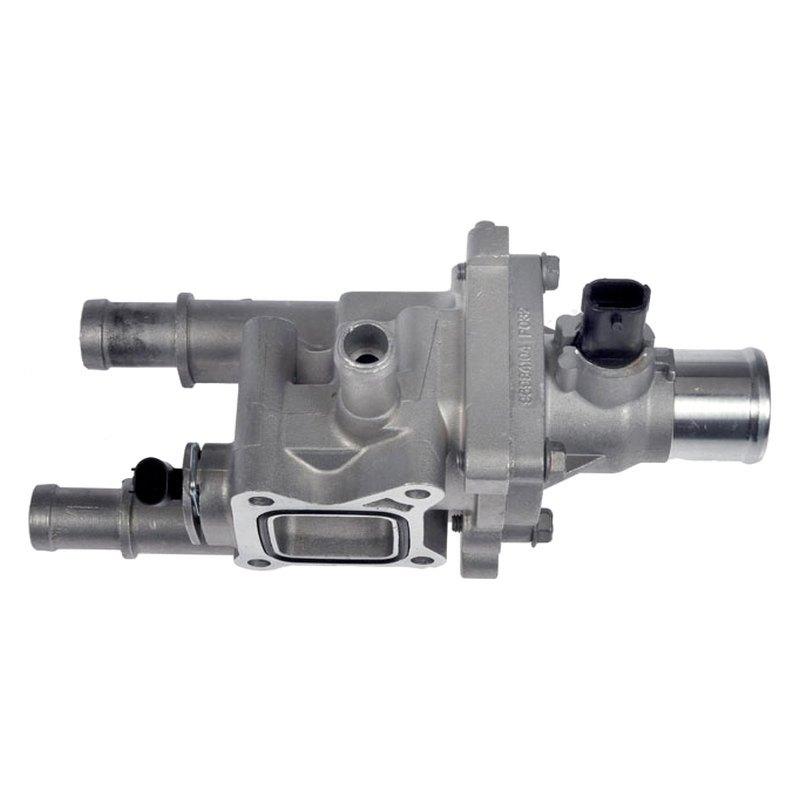 Chevrolet Engine Coolant : Dorman chevy cruze engine coolant thermostat housing