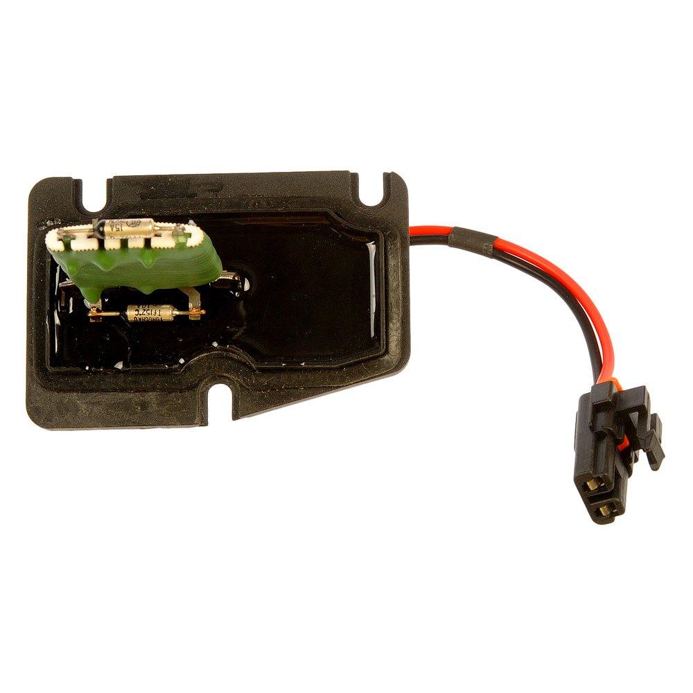 Dorman 973 000 hvac blower motor resistor for Blower motor resistor location