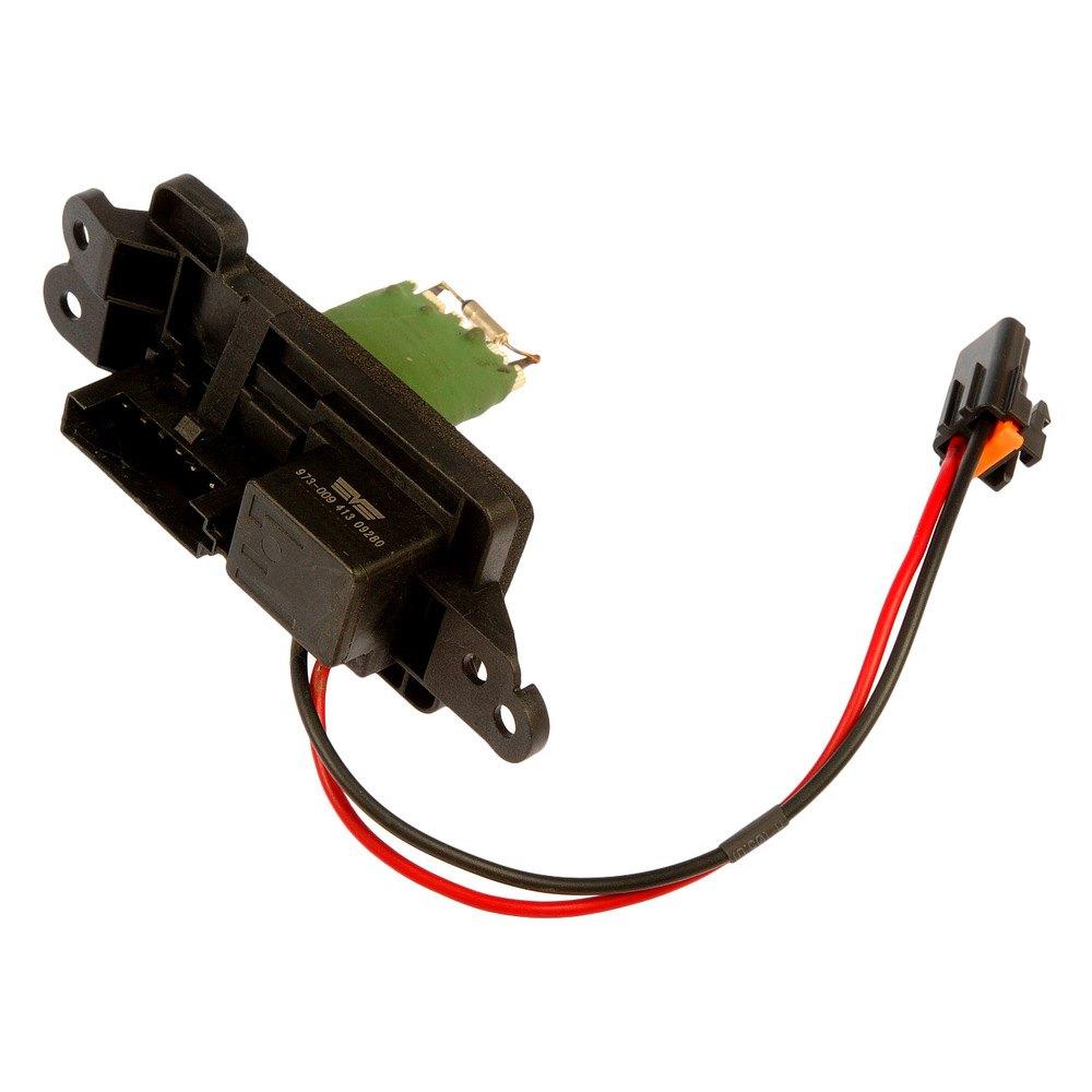 Dorman 973 009 hvac blower motor resistor for What is a blower motor resistor
