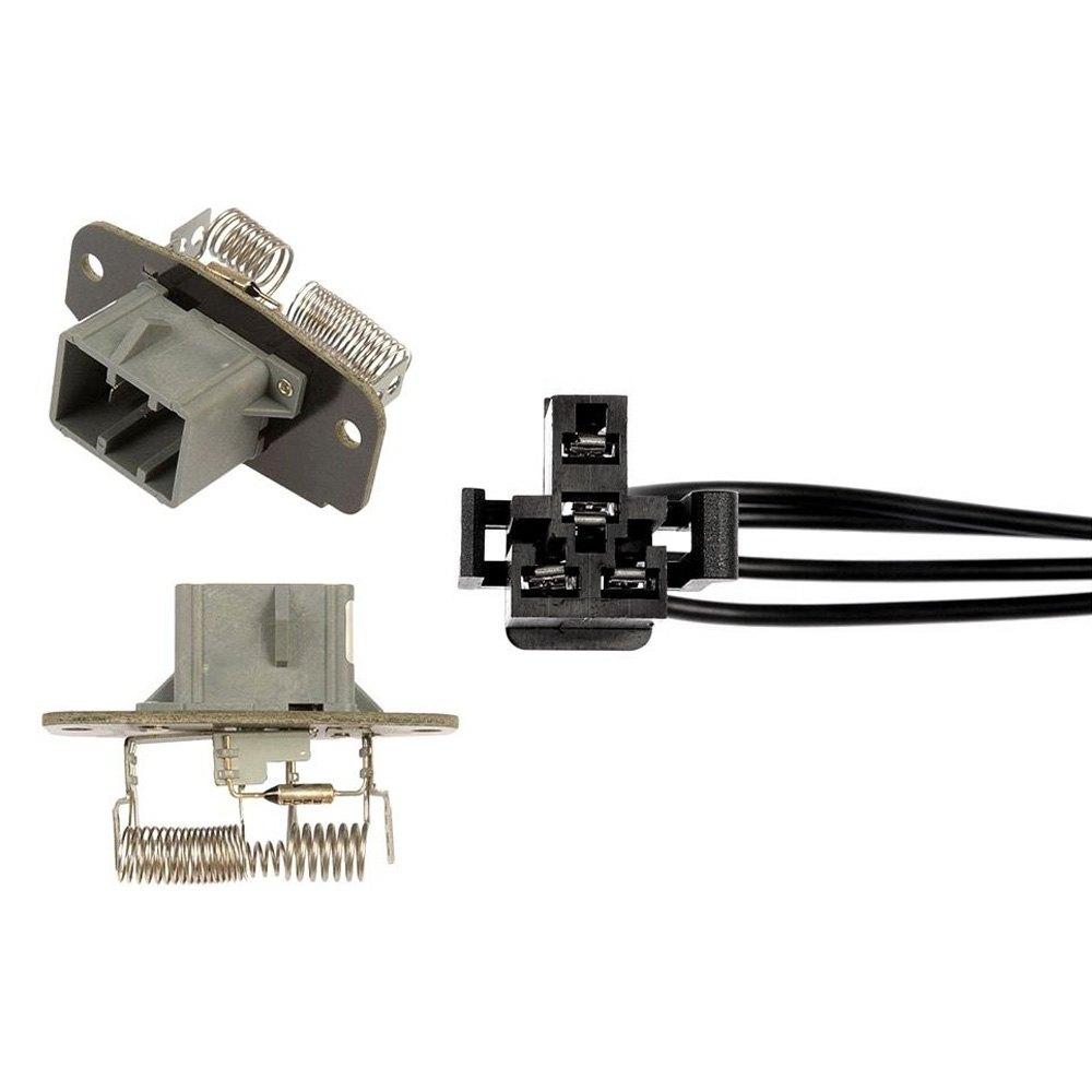 973 412 dorman hvac blower motor resistor kit for What is a blower motor resistor