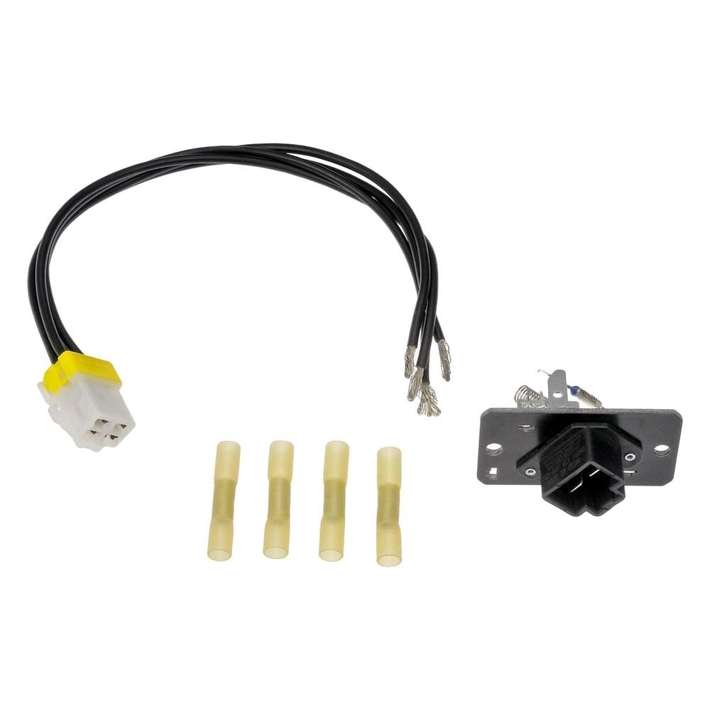Ford blower motor resistor pigtail replacement autos post for Ford truck blower motor resistor