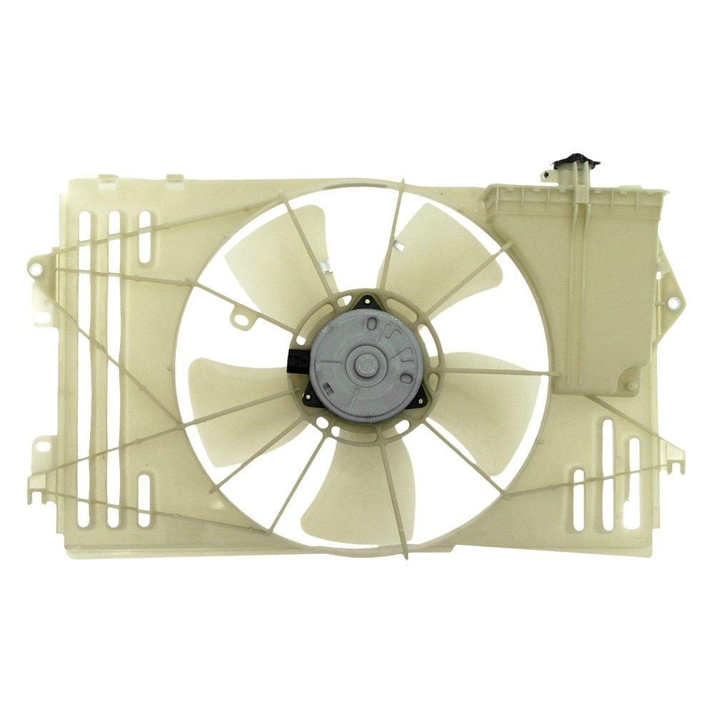 2007 Pontiac Vibe Transmission: Pontiac Vibe 2005-2006 Cooling Fan Assembly