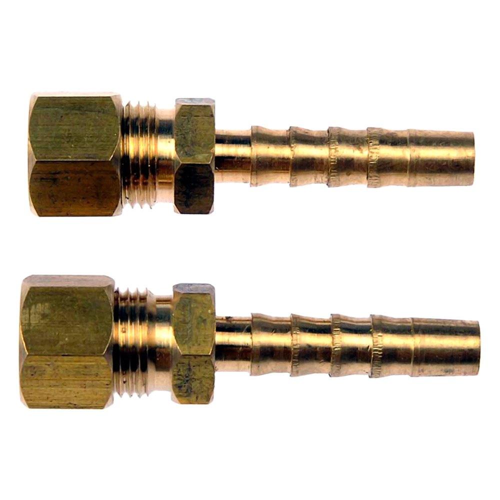 Dorman fuel line adapter quot steel to