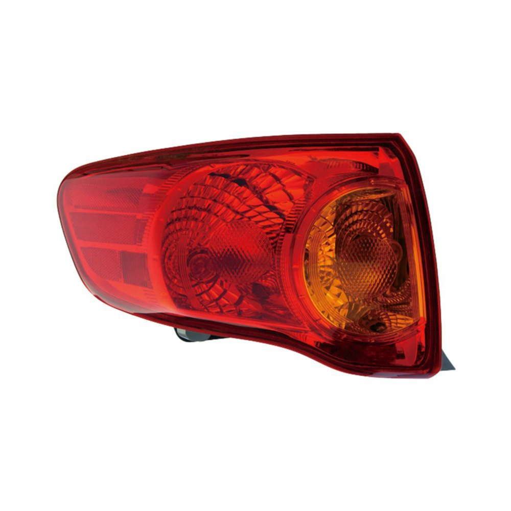 2001 Toyota Corolla Tail Lights: Toyota Corolla 2009 Replacement Tail Light