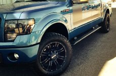DPR® - COMMANDO Matte Black on Ford F-150