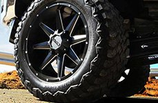 DPR® - STEALTH Wheels on Ford F-250