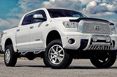 DPR® - TECH-9 Chrome on Toyota Tundra