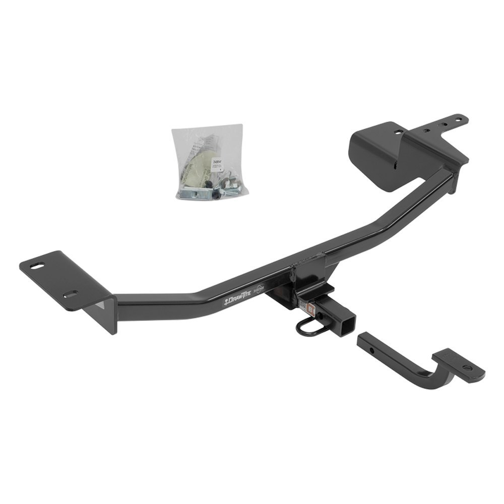draw tite volkswagen golf gti  class  trailer hitch    receiver opening