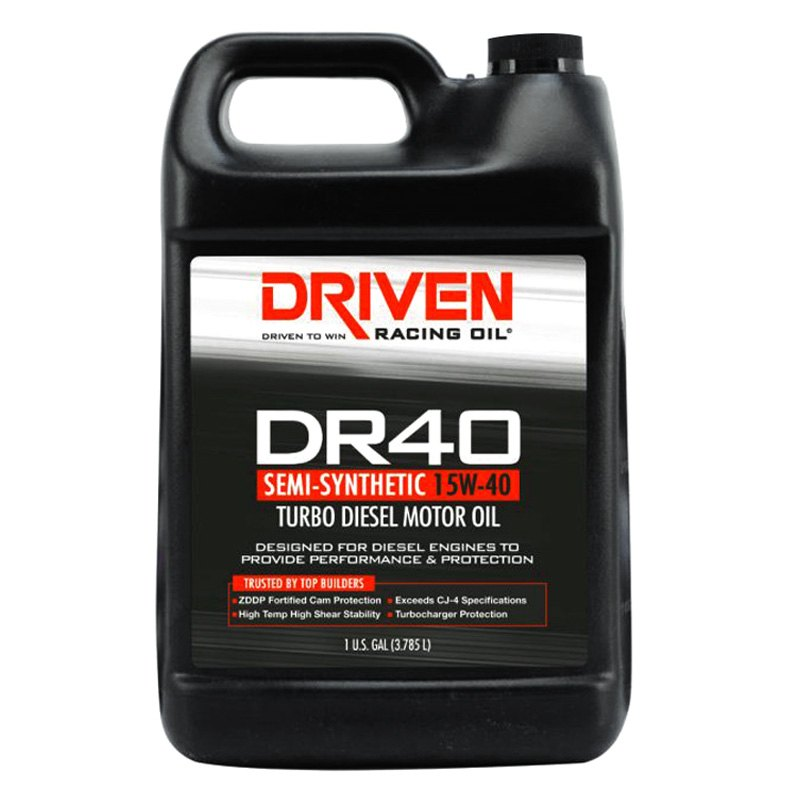 Driven Racing Oil Semi-Synthetic Engine Oil