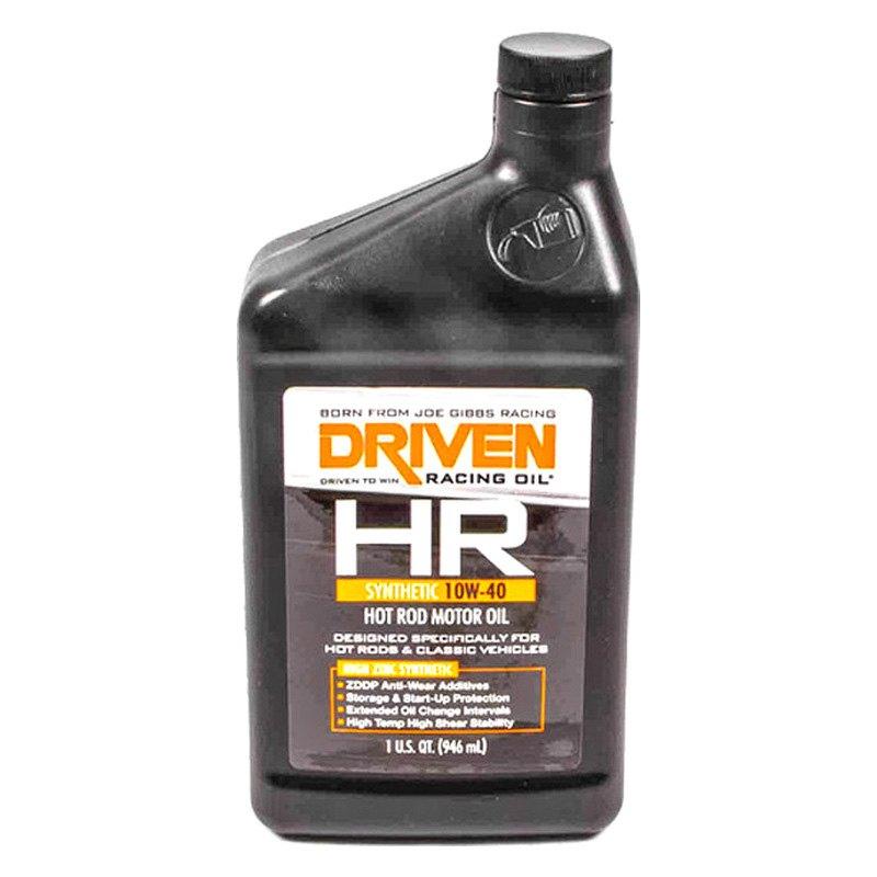driven racing oil 03906 hr sae 10w 40 synthetic motor oil 1 quart ebay. Black Bedroom Furniture Sets. Home Design Ideas