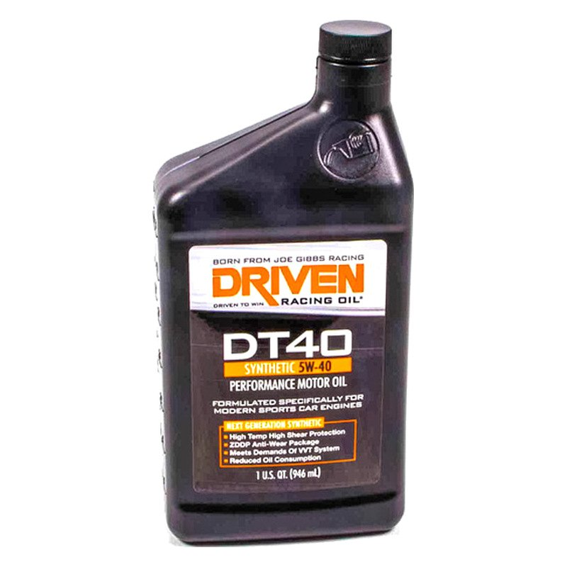 Driven Racing Oil Jgp02406 Dt40 Sae 5w 40 High