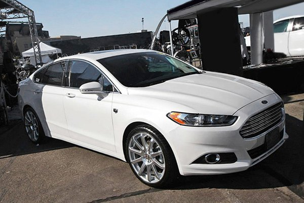 Silver Ford Fusion >> DROPSTARS® 643MS Wheels - Gloss Silver with Mirror