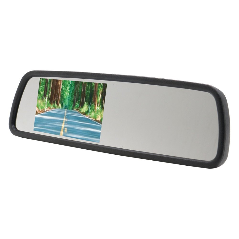 Ds18 rvm rear view mirror with 4 3 screen for Mirror screen