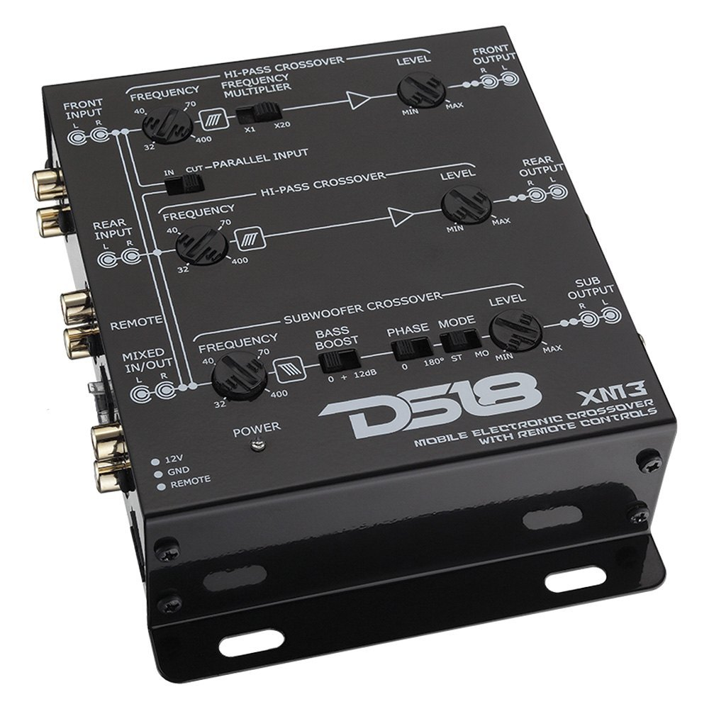 Ds18 Xm3 3 Way Active Crossover With X20 Frequency Multiplier Switch Circuit Was Designed For The Purpose Of Creating An