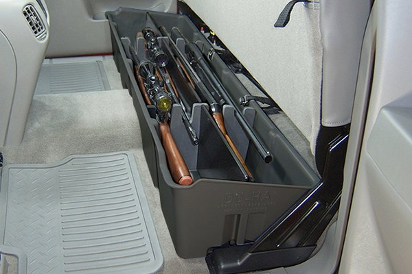 DU-HA® 10001 - Dark Gray Underseat Storage Case