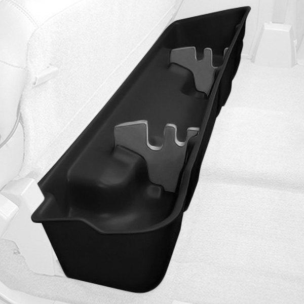 Regular Cab Black Behind The Seat Storage Case