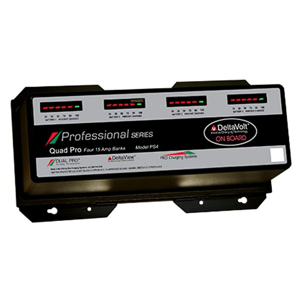 Dual Pro 174 Ps4 Professional Series 60a 4 Bank Battery