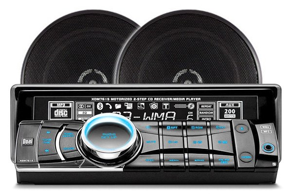 Dual Car Stereo Radio Speakers Cd Amp Dvd Players