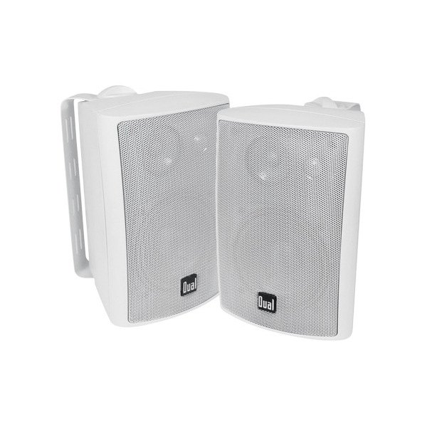 """Dual LU43PW 4"""" 3 Way Indoor Outdoor 4 6 Ohm 100W White"""