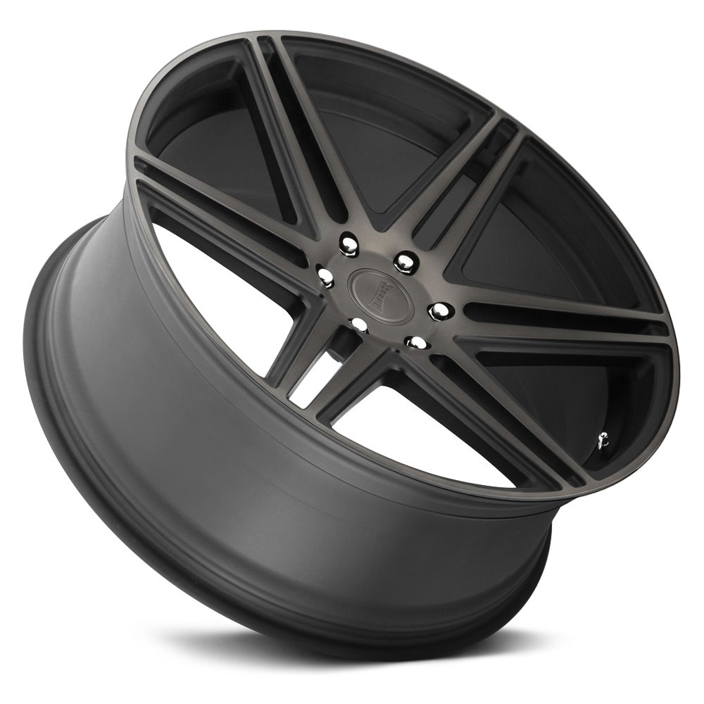 DUB® - S123 SKILLZ Black with Machined Face and Dark Tint