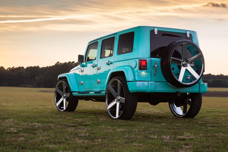 Jeep Wrangler Tires And Rims >> DUB® S115 BALLER Wheels - Chrome Rims