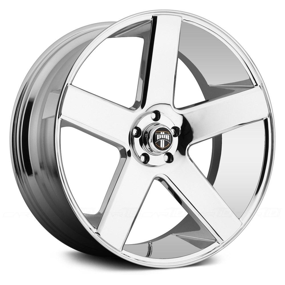 DUB® S115 BALLER Wheels - Chrome Rims