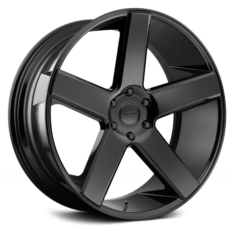 Dub 174 Baller Wheels Gloss Black Rims