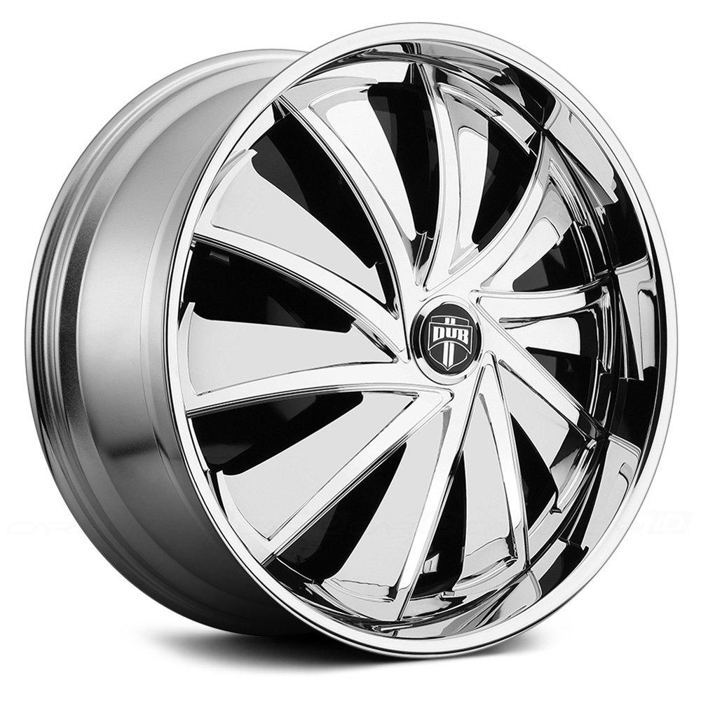 Black Wheels Dub Alloys: DUB® CUTTA Wheels