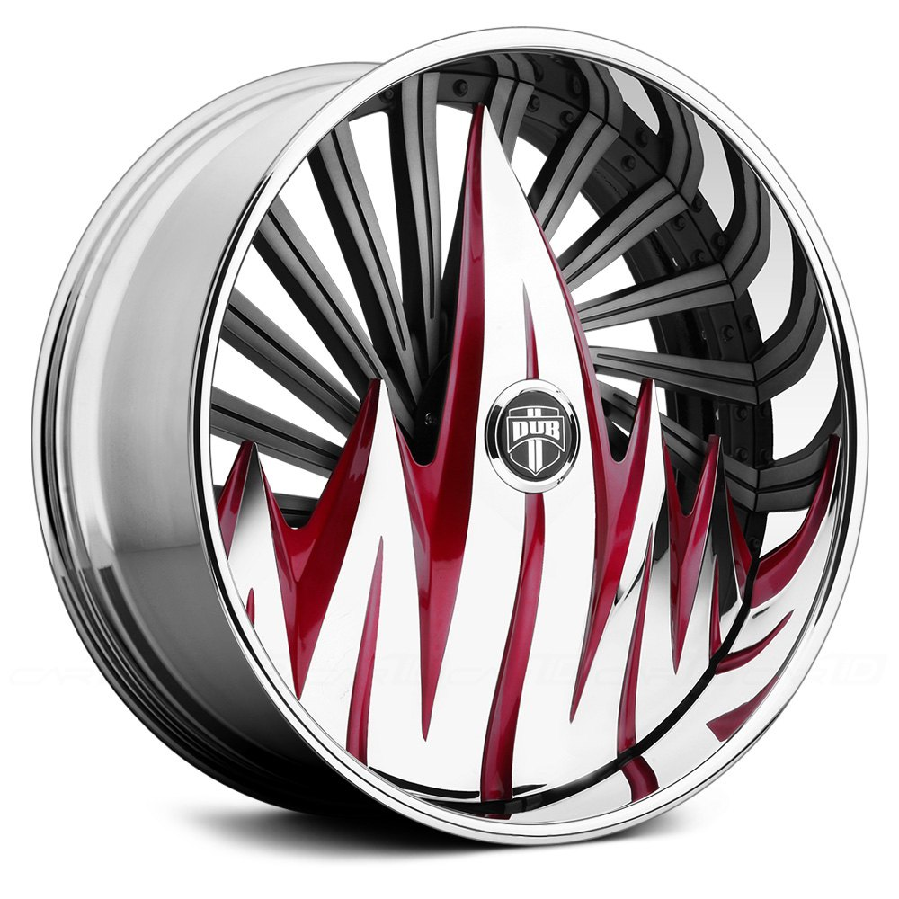 Aftermarket Parts For Chevy DUB® F.U. Wheels - Custom Painted Rims