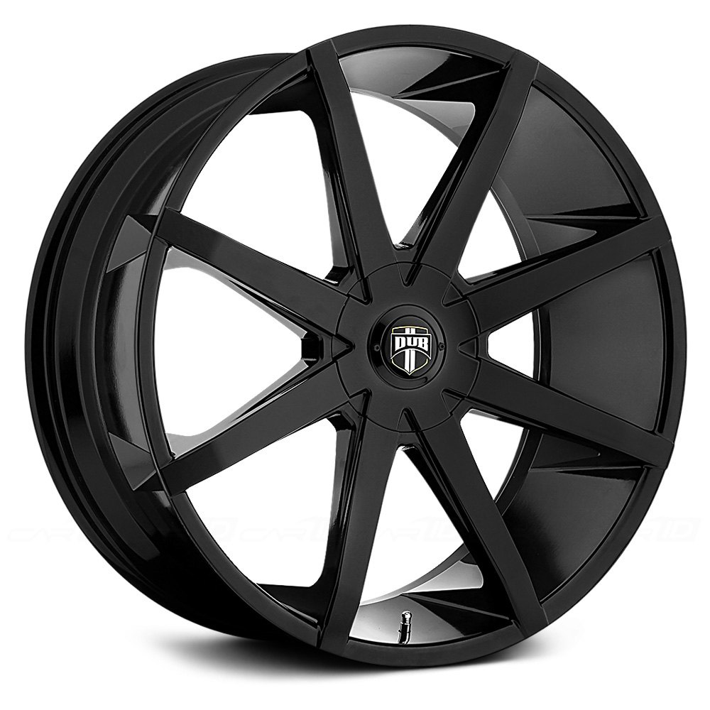 Dub 174 Push Wheels Gloss Black Rims