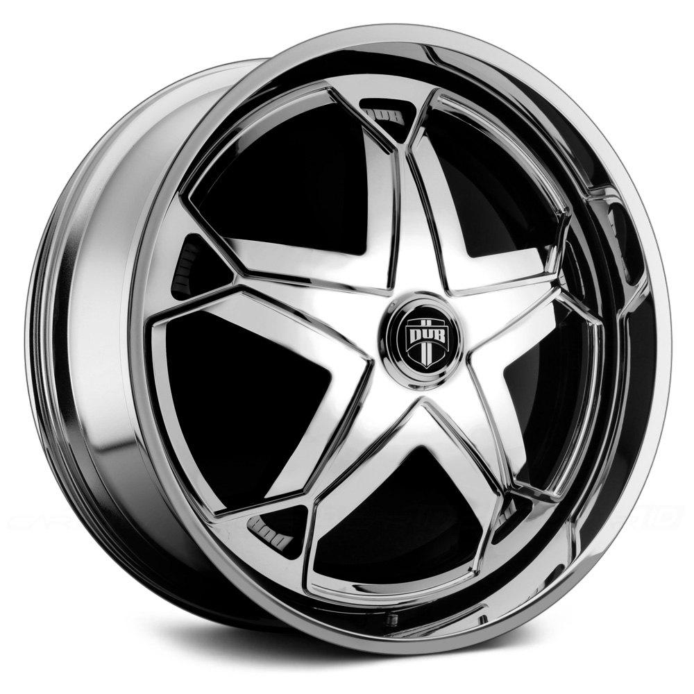 Black Wheels Dub Alloys: DUB® SCRATCH Wheels