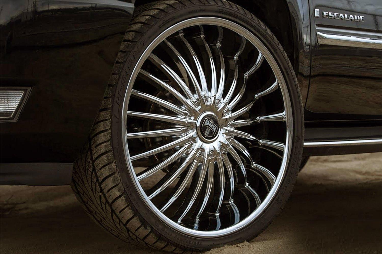 DUB® SUAVE Wheels - Chrome Rims