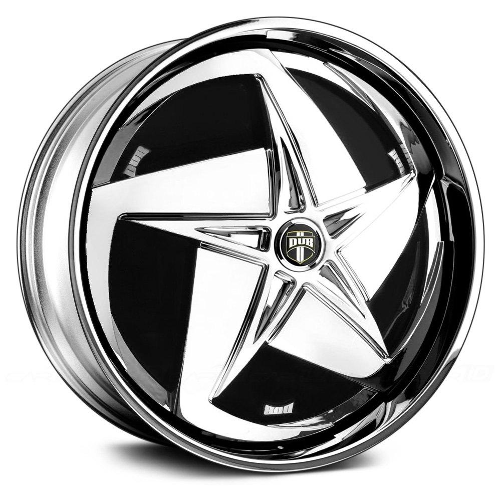 Black Wheels Dub Alloys: DUB® SWERV Wheels