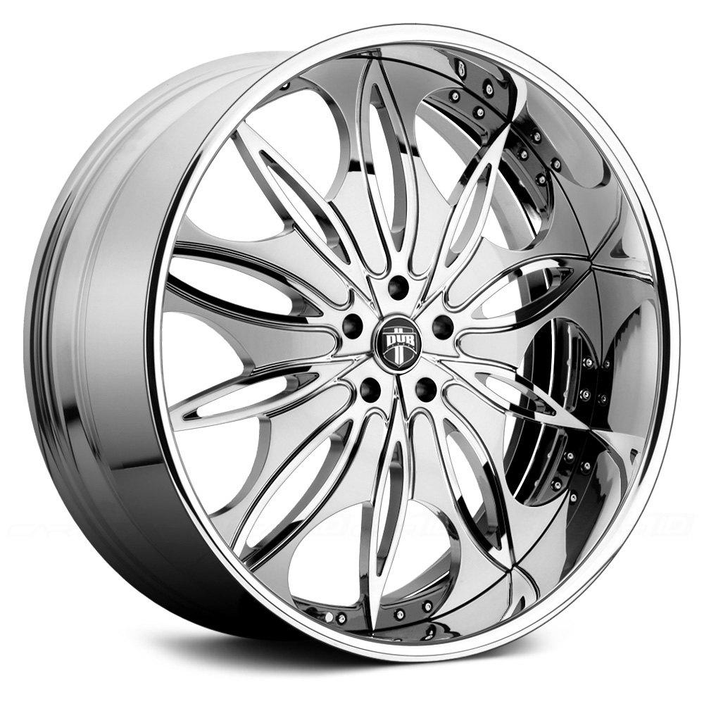 Black Wheels Dub Alloys: DUB® X89 TRIP 2PC Wheels