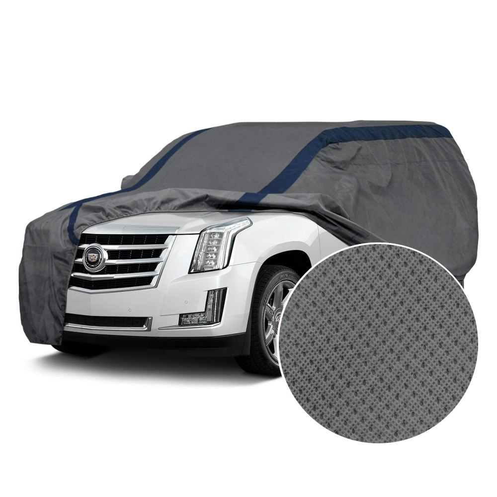 Duck Covers Weather Defender Gray Suv Cover
