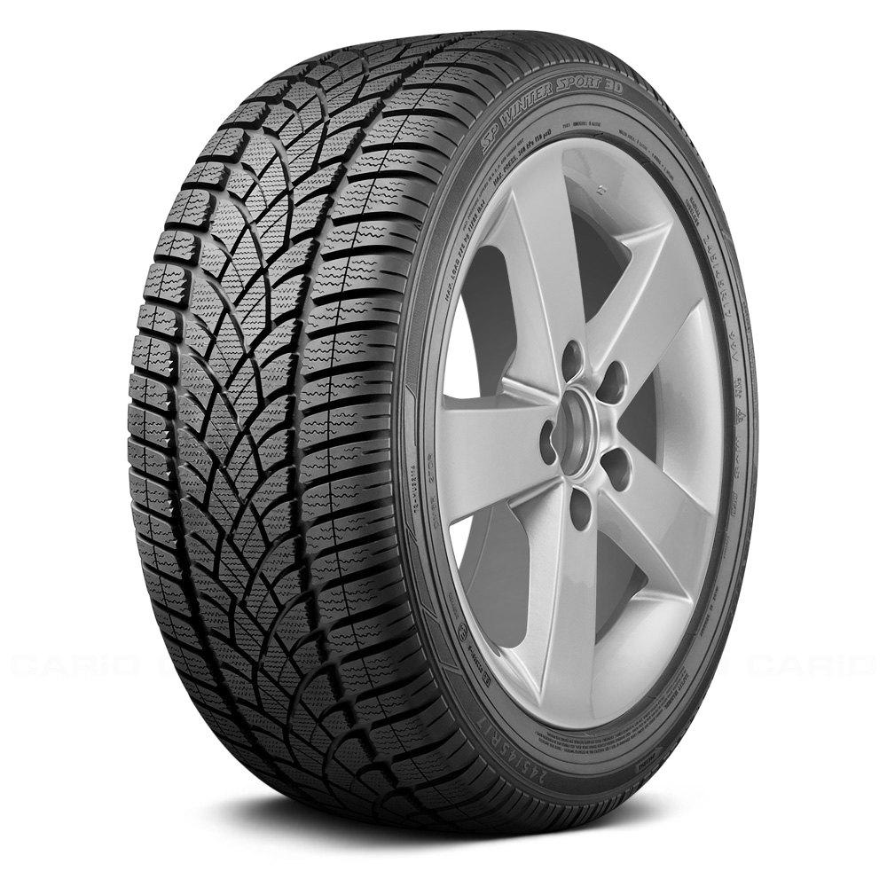dunlop tire 245 50r 18 100h sp winter sport 3d dsst rof snow performance ebay. Black Bedroom Furniture Sets. Home Design Ideas