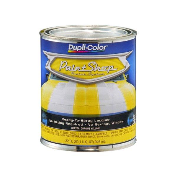 Dupli Color Bsp206 32 Oz Chrome Yellow Paint Shop Base Coat