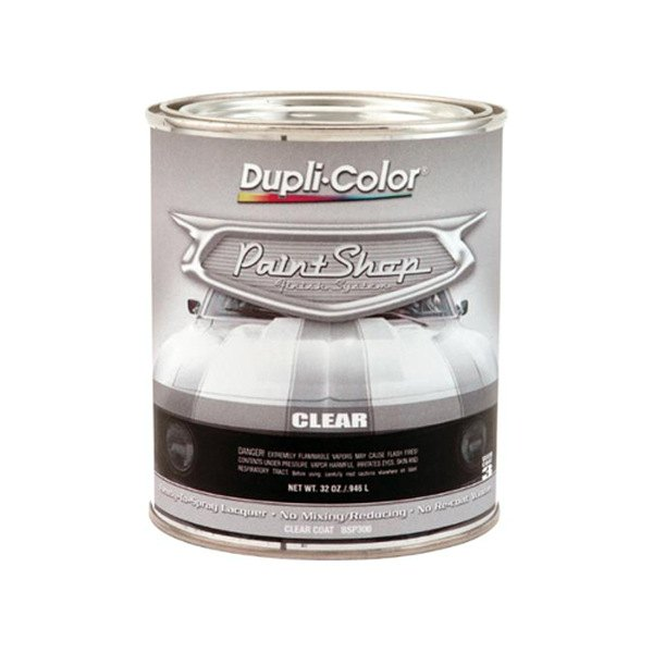Dupli color 174 bsp300 32 oz gloss paint shop clear coat